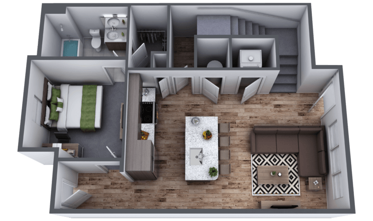 Lakeside Commons Oswego Aspen First Floor Layout