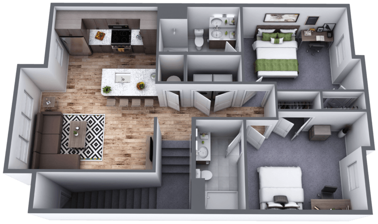 Lakeside Commons Oswego Spruce First Floor Layout